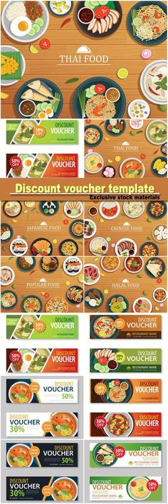 Vectors  Food Voucher Templates  Welcome Drink Voucher