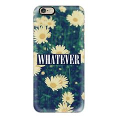 iPhone 6 Plus/6/5/5s/5c Case - Cute Cool Girly Chic Sassy Daisy... ($40) ❤ liked on Polyvore featuring accessories, tech accessories, iphone case, slim iphone case, floral iphone case, apple iphone cases and iphone cover case