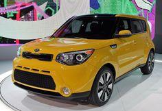 The new  Kia Soul. Winner of the Yellowest award!  NYIAS Kia Soul 1f30c17a434b