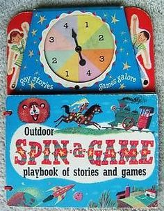 Check out Vintage CAPITOL PUBLISHING OUTDOOR SPIN GAME BOOK 1952  http://www.ebay.com/itm/Vintage-CAPITOL-PUBLISHING-OUTDOOR-SPIN-GAME-BOOK-1952-/370250454446?roken=cUgayN&soutkn=joLSXj via @eBay