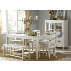 Found it at Wayfair - 6 Piece Dining Set