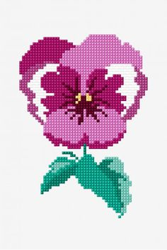 You can create very unique habits for materials with cross stitch. Cross stitch versions will very nearly amaze you. Cross stitch beginners will make the versions they desire without difficulty. Cross Stitch Rose, Modern Cross Stitch, Cross Stitch Flowers, Cross Stitch Charts, Cross Stitch Designs, Cross Stitch Patterns, Cross Stitching, Cross Stitch Embroidery, Embroidery Patterns