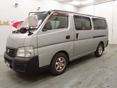 Japanese vehicles to the world: 2003 Nissan Caravan for DRC to Dar es aslaam