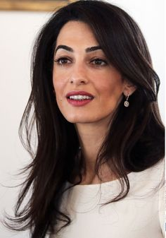 Just add this to the list of reasons why Amal Clooney took home the top honor in Barbara Walters' annual 10 Most Fascinating People of 2014 special. The London-based lawyer, who just so happens to be married to Hollywood heartthrob George Clooney,. Amal Clooney, George Clooney, Camila Morrone, Shakira, Looks Style, Mannequins, Fashion Advice, Girl Crushes, Role Models