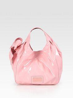 I'm in love.   Valentino - Medium Lacca Nuage Hobo - Saks.com