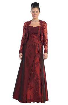 mother of the bride plus size dresses | ... elegant plus size mother of the bride dresses with jacket 5x plus