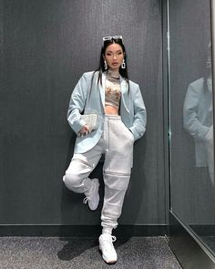 Image in A. clothes collection by Kally on We Heart It Cute Comfy Outfits, Chill Outfits, Swag Outfits, Retro Outfits, Stylish Outfits, Tomboy Fashion, Look Fashion, Streetwear Fashion, Fashion Outfits