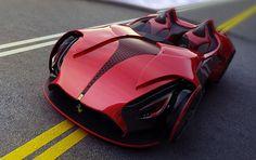 Ferrari Millenio concept, my 1,000th photo!!!!
