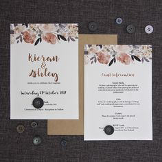 Beautiful Peonies Wedding Invitation - Be My Guest