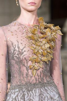 Georges Hobeika Couture, Fall 2016 - Breathtakingly Beautiful Fall '16 Couture Details - Photos