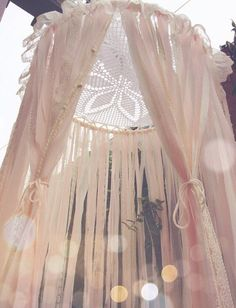 MADE TO ORDER Big Shabby Chic Boho Lace Crochet by Unicorns4Evaa