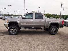 A year after unveiling the all-new 2014 Chevy Silverado, General Motors and Chevrolet are rumored to update the new pickup truck. Jacked Up Chevy, Lifted Chevy Trucks, Chevy Pickups, Chevrolet Trucks, Gmc Trucks, Diesel Trucks, Chevy Trucks For Sale, New Pickup Trucks, Cool Trucks