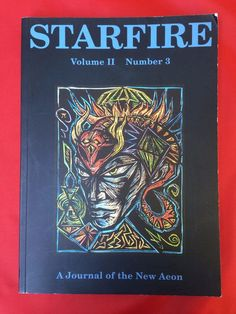Starfire Journal Vol II #3 Journal New Aeon Michael Staley Kenneth Grant Thelema