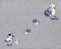 pedalfar: Tシャツも買ってしまった。 (via ポタリングキャットの猫Tシャツ) - Rudimentary, My Dear