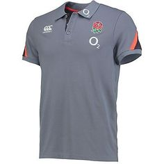 Canterbury mens #gents #england rugby cotton training polo #shirt top - grey,  View more on the LINK: http://www.zeppy.io/product/gb/2/331948226371/