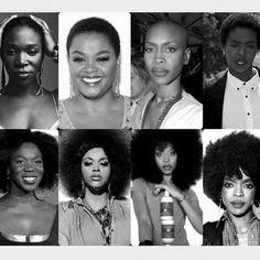 Powerful black woman