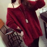 Any questions, please contact me: wendy1990919@yahoo.com sweater length-72cm, bust-125cm