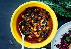 Suppe med hvide bønner og kål | Iform.dk
