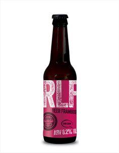 Eden Brewery - RLF (Really Love Framboise) - Cumbrian Raspberries Raspberries, Brewery, Beer Bottle, Ale, British, Fruit, Flower, Drinks, Drinking