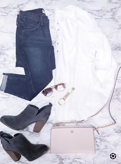 304fcb8d49f7 White thermal with booties and Tory Burch bag