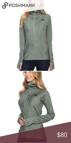 The North Face 1/4 zip hoodie FuseForm NWT The North Face Jackets & Coats