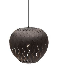 Lighting designer extraordinaire David Trubridge recently launched a pair of pendant lights called Belle and Beau that were developed by Marion Courtillé, a member of their design team.