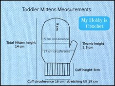 Winter is coming soon! Keep the small hands warm with these cute mittens! The pattern can be used for toddler girls, but also for little b...