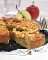 Sukkerfri og fiberrik eplekake med mørdeig
