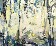 Ryan Cobourn - The Woods 62013, oil on canvas
