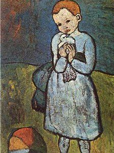 Picasso, Child with a Dove