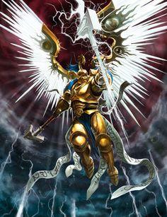 Stormcast Prosecutor #ageofsigmar #warhammer #art #fantasy #aos #gamesworkshop #Stormcast #Chaos