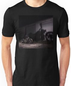 'Jay's Harley Davidson V-Rod' T-Shirt by HoskingInd Harley Davidson Fatboy, Used Harley Davidson, Harley Davidson Motorcycles, Road King, Chiffon Tops, Classic T Shirts, Unisex, Mens Tops, Stuff To Buy