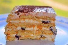 Самые вкусные рецепты: Торт из печенья без выпечки