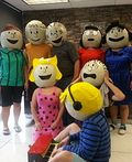 Charlie Brown Gang Homemade Costume - 2015 Halloween Costume Contest