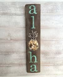 Image result for pineapple wood long sign