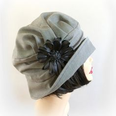 Vintage Inspired Cloche Hat The Alice in Black by TheWaughdrobe, $114.50