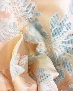 #fabric #jacquard #silk #ss18 #pv #paris