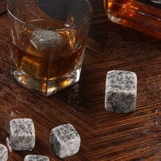Kitchen Tools 6 Pcs Gray Wiskey Ice Wine Stone Beverage Chilling Rocks For Whiskey And Other Beverages Barware Coolers Tool Coupon Queen, Christmas Stocking Stuffers, Beverages, Drinks, Kitchen Tools, Shot Glass, Whiskey, Barware, Coolers