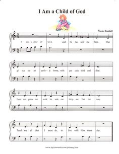 I Am a Child of God: Simplified primary songs...