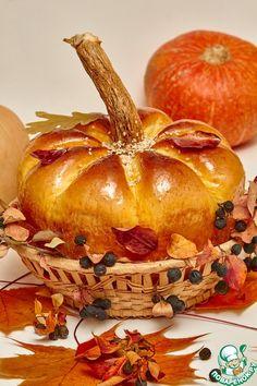 "Хлеб ""Осенняя тыква"" - кулинарный рецепт"