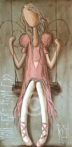 Angel Drawing, I Believe In Angels, Angel Crafts, Dibujos Cute, Angel Pictures, Angel Art, Pictures To Paint, Medium Art, Folk Art