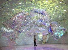 Soo Sunny Park: Unwoven Light Installation – Ami Dolling