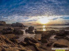 Morro da Pescaria (Praia do Morro) - Guarapari/ES by erlyenm