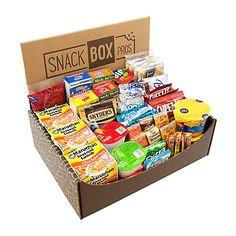 Candycom Dorm Room Survival Snack Box