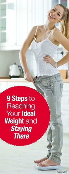 9 Steps – Getting to Ideal Weight | Wokoutsly