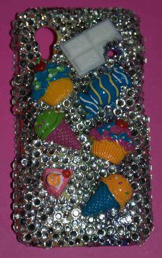 Crystal Sweets for Samsung Galaxy Ace / www.violetfleur.com Galaxy Ace, Fashion Beauty, Blog, Samsung Galaxy, Sweets, Phone Cases, Technology, Crystals, Tech