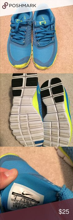 Nike Tennis Shoes Gently used Nike Tennis Shoes. Good, used condition. Nike Shoes Athletic Shoes