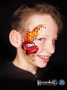 Cars face paint