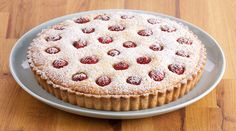 Quick and easy Raspberry  Frangipan Tart recipe from Bake With Anna Olson.