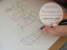A Clipboard and a Pen: Inquiry through Art Using drawing and sketching to empower children to make their ideas and thoughts visible